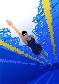 생활체육, 운동, 레저활동 (주제), 취미, 여성 (성별), 수영 (수상스포츠), 자유형, 수영장
