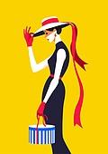 쇼핑 (상업활동), 상업이벤트 (사건), 여성 (성별), 뷰티, 평면 (물체묘사), 컬러풀, 싱글라이프 (주제)