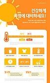 인포그래픽, 인포그래픽 (시각교재), 그래프, 자료 (정보매체), 설문조사, 폭염, 뜨거움 (컨셉), 온도계