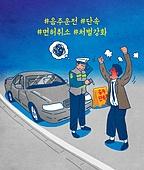 음주운전 (사회이슈), 음주측정 (체포), 음주운전, 경찰, 자동차