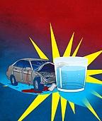 음주운전 (사회이슈), 음주측정 (체포), 음주운전, 자동차, 충돌 (향해가는동작), 충격 (컨셉), 교통사고, 술잔