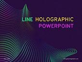파워포인트, 메인페이지, 선, 홀로그램, 패턴, 곡선