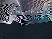 파워포인트, 메인페이지, 선, 홀로그램, 패턴, 직선