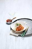 비빔국수 (국수),면,매콤한음식,접시,그릇,음식