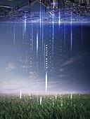 그래픽이미지, 편집디자인, 레이아웃, 포스터, 5G, 도시, 풍경 (컨셉), 전송, 자료 (정보매체), 자연 (주제)