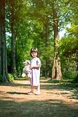 한국인, 어린이 (인간의나이), 유치원생, 테디베어, 인형, 테디베어 (장난감)