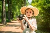 한국인, 어린이 (인간의나이), 유치원생, 여름방학, 초등학생, 여행, 메타세쿼이아 (나무), 사진촬영 (촬영), 촬영, 행복, 행복 (컨셉)