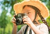 한국인, 어린이 (인간의나이), 유치원생, 여름방학, 여행, 메타세쿼이아 (나무), 사진촬영 (촬영), 촬영