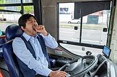 한국인, 40-49세 (중년), 버스, 대중교통 (운수), 버스운전사, 운전사, 졸음운전