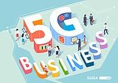 4차산업혁명 (산업혁명), 4차산업혁명, 신기술, 5G, 타이포그래피 (문자), 비즈니스