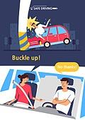 운전, 예절 (컨셉), 안전벨트, 사고, 교통사고, 자동차