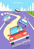 운전, 예절 (컨셉), 도로, 폭력 (사회이슈), 난폭운전, 자동차