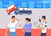 운전, 예절 (컨셉), 경찰, 교통사고, 합의, 자동차