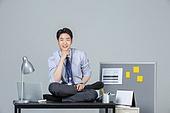 일 (물리적활동), 사무실 (업무현장), 비즈니스맨, 한국인, 인턴