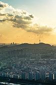 서울 (대한민국), 한국 (동아시아), 도시풍경 (도시), 도시, 도심지, 남산 (서울), 남산서울타워 (서울)