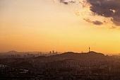 서울 (대한민국), 한국 (동아시아), 도시풍경 (도시), 도시풍경, 도심지, 남산 (서울), 남산서울타워 (서울)