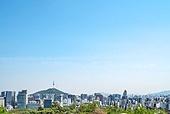 서울 (대한민국), 한국 (동아시아), 도시풍경 (도시), 도시, 도심지, 남산 (서울), 남산서울타워 (서울), 중구 (서울)