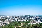 서울 (대한민국), 한국 (동아시아), 도시풍경 (도시), 도시, 도심지, 남산 (서울), 남산서울타워 (서울), 중구 (서울), 고층빌딩, 고층빌딩 (회사건물)