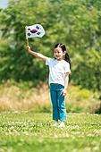 한국인, 어린이 (인간의나이), 초등학생, 유치원생, 태극기, 애국심, 제헌절 (국경일), 광복절 (한국기념일)