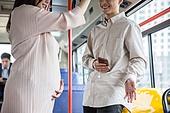 임신 (물체묘사), 버스, 교통, 승객, 양보, 교통약자석 (교통수단좌석), 미소