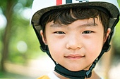 한국인, 어린이 (인간의나이), 초등학생, 유치원생, 헬멧, 스포츠헬멧
