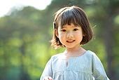 한국인, 어린이 (인간의나이), 유치원생, 소녀 (여성), 순진, 행복, 행복 (컨셉), 앞모습 (카메라앵글)