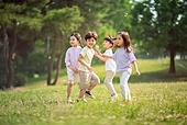 한국인, 어린이 (인간의나이), 초등학생, 유치원생, 여름, 여름방학, 방학, 자유, 즐거움, 재미, 행복 (컨셉)