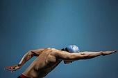 수영 (수상스포츠), 선수, 자유형