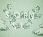 페이퍼아트, 타이포그래피 (문자), 축하이벤트 (사건), 상업이벤트 (사건), 쇼핑 (상업활동)