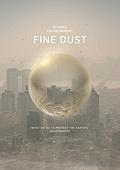 그래픽이미지, 포스터, 브로슈어 (템플릿), 환경, 환경보호 (환경), 날씨, 지구 (행성), 자연재해, 먼지, 대기오염 (공해), 흐린날씨 (하늘)