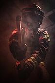 한국인, 소방관, 소방관 (응급서비스직업), 방화, 불, 사고, 불길, 도끼