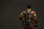 한국인, 영웅, 소방관, 소방관 (응급서비스직업), 방화, 불, 산소탱크 (산소호흡기)