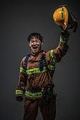 한국인, 영웅, 소방관, 소방관 (응급서비스직업), 방화, 불, 안전헬멧