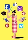 중독, 중독자 (역할), 정신건강, 정신건강 (주제), SNS (기술), 스마트폰