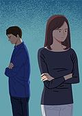 이혼, 헤어짐, 문제 (컨셉), 싸움 (물리적활동), 부부, 갈등