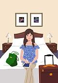호캉스, 호텔, 휴가, 여름, 휴가 (주제), 혼자여행 (여행), 여성 (성별), 싱글라이프 (주제)