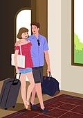 호캉스, 호텔, 휴가, 여름, 휴가 (주제), 커플, 부부, 신혼부부