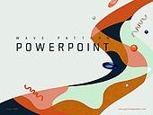 파워포인트, 메인페이지, 물결, 백그라운드, 축하이벤트 (사건), 도형, 패턴 (묘사)