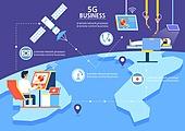 5G, 기술, 4차산업혁명 (산업혁명), 통제 (컨셉), 위성, 수술 (치료), 의사, 원격진료