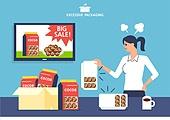 포장, 과대포장, 과대광고, 쇼핑 (상업활동), 황당 (컨셉), 홈쇼핑, 온라인쇼핑
