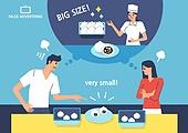 포장, 과대포장, 과대광고, 쇼핑 (상업활동), 만두 (한식), 빵, 황당, 홈쇼핑
