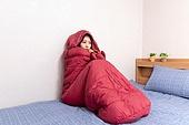 차가움 (컨셉), 감기, 고통, 침낭