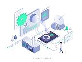 4차산업혁명 (산업혁명), 비즈니스, 기술, 5G, 로봇팔 (로봇), 안테나
