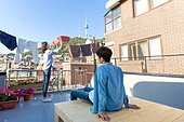 라이프스타일, 한국인, 가사 (허드렛일), 옥탑방, 빨래 (허드렛일), 집안살림