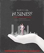 모노톤 (색조이미지), 비즈니스, 포스터, 실루엣, 편집디자인, 성공