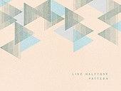 패턴, 하프톤, 도형, 선, 삼각형