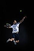 남성, 스포츠, 테니스 (라켓스포츠), 서브 (스포츠활동), 점프