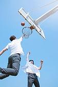 고등학생, 농구, 운동, 플레이, 슛 (스포츠활동), 점프