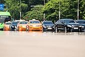 도시풍경 (도시), 서울 (대한민국), 여름, 폭염, 뜨거움 (컨셉), 날씨, 폭염 (자연현상), 여름 (계절), 아지랑이, 택시, 대중교통 (운수)