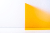 오브젝트 (묘사), 컬러, 색상, 강렬한색채, 아크릴, 투영, 주황, 주황배경 (유색배경), 백그라운드